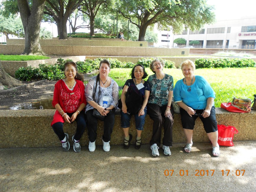 0 Irene, Beth, Sylvia, Barb, Alice at Water Gardens